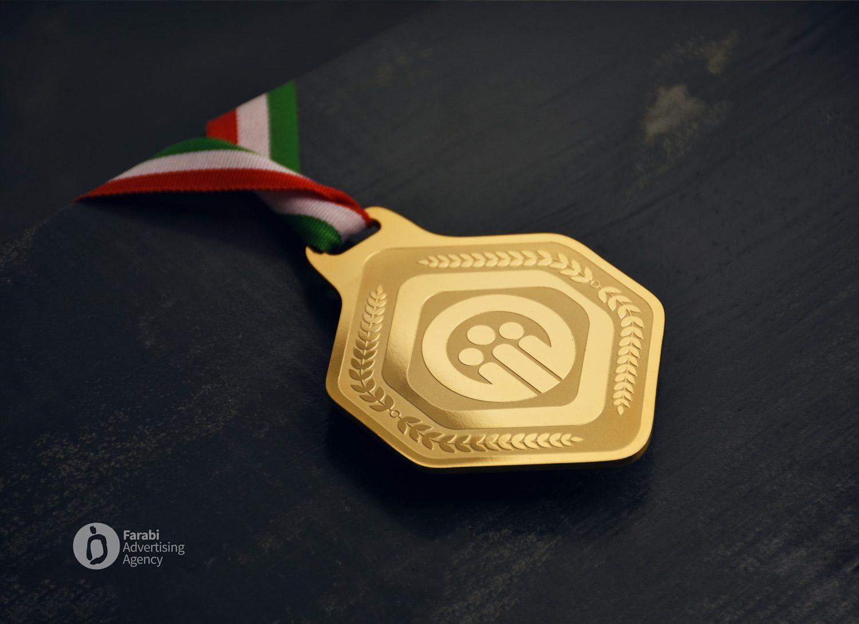 مدال طلای چهاردهمین مسابقات المپیاد سراسری تنیس روی میز بانوان تامین اجتماعی کشور