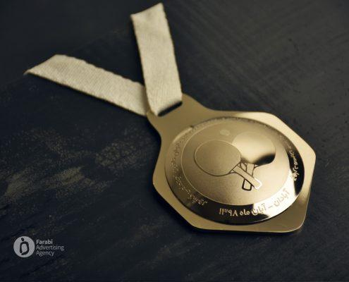 مدال نقره چهاردهمین مسابقات المپیاد سراسری تنیس روی میز بانوان تامین اجتماعی کشور
