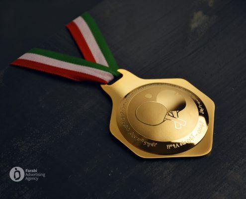 مدال طلا چهاردهمین مسابقات المپیاد سراسری تنیس روی میز بانوان تامین اجتماعی کشور